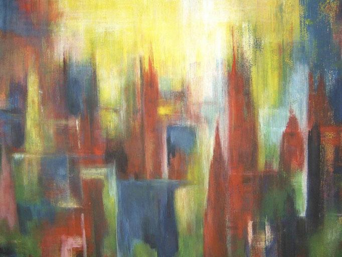 Flou de ville - 120x140 - 2011