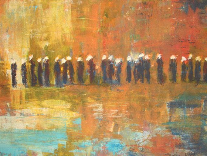 Touaregs au désert - 60x80 - 2012