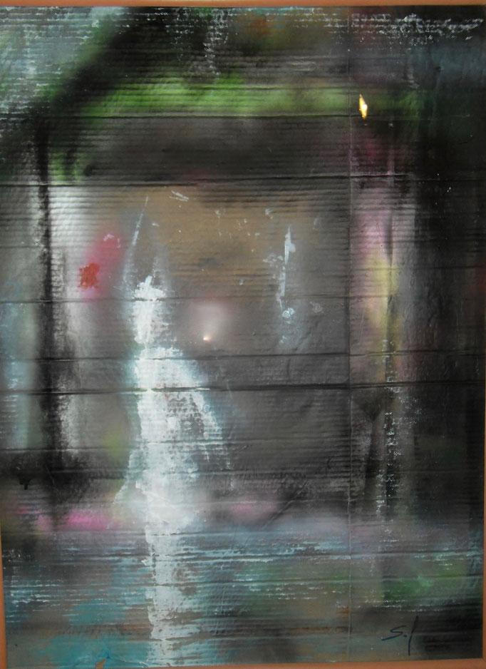 Fuite fantôme - 80x60 - 2016