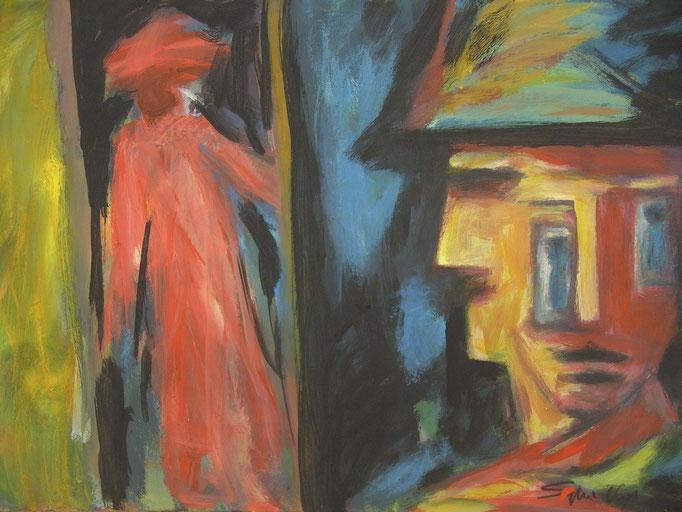 Possédé - 60x80 - 2010