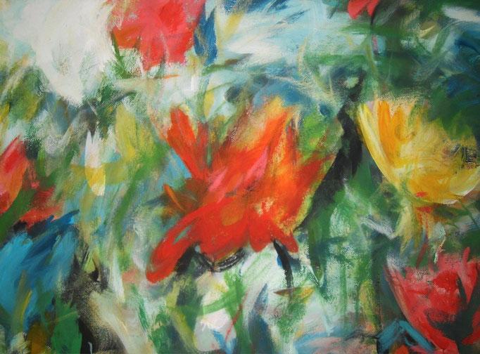 Sauvages fleurs - 75x115 - 2013