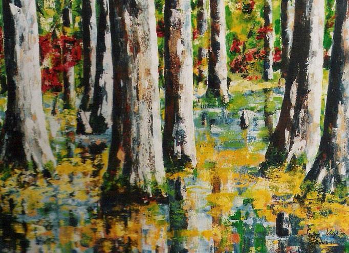Louisiana Mangrover - 60x80 - 2009