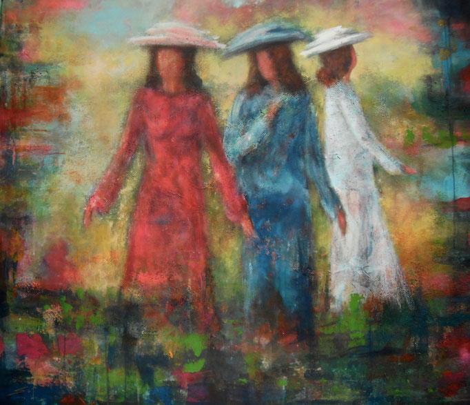 Les trois grâces - 120x140 - 2016