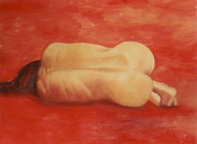 Nue rouge - 60x80 - 2004