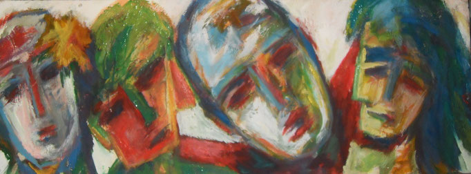 Multitêtes - 70x160 - 2011