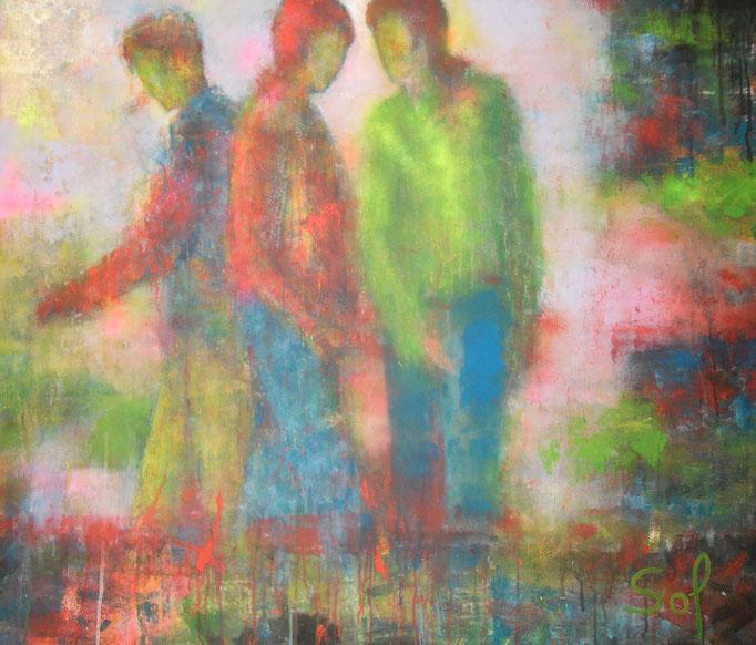 Coloré brouillard - 120x140 - 2014