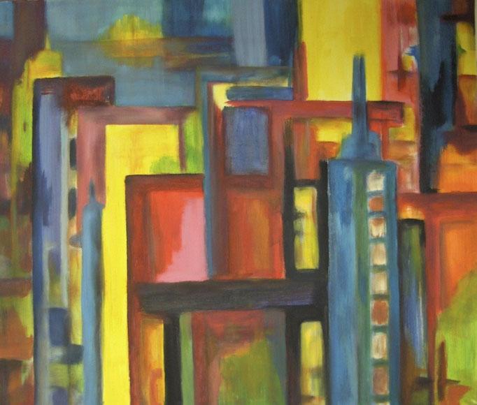 Ville habitée - 120x140 - 2010