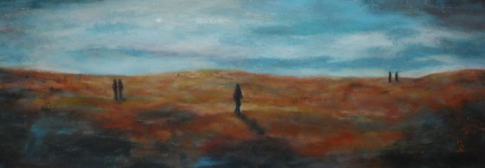 Les dunes - 40x120 - 2013