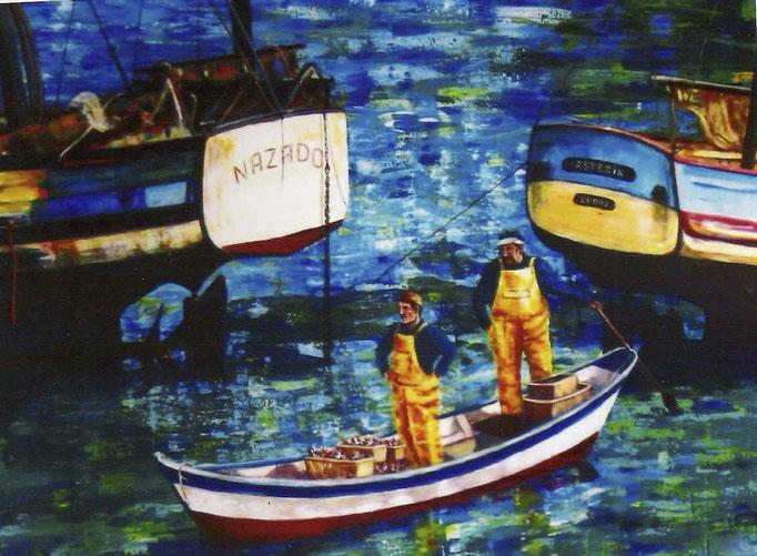 Pêcheurs bretons - 80x100 - 2005