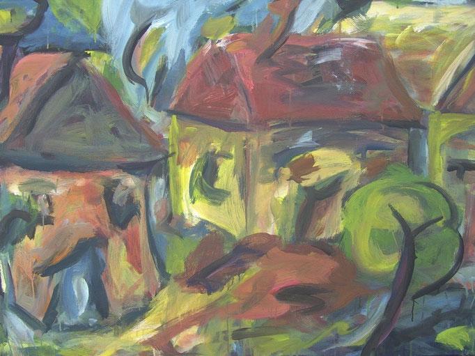 Baraques bavardes - 80x100 - 2008