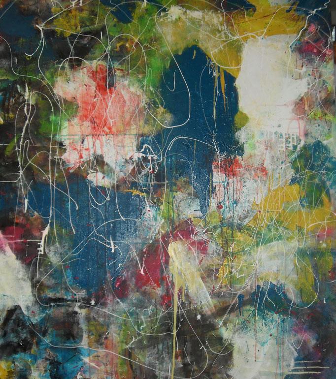Amoureuse explosion - 140x120 - 2016