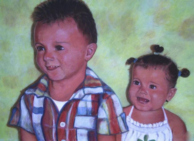 Pierre et Jeanne - 80x100 - 2008