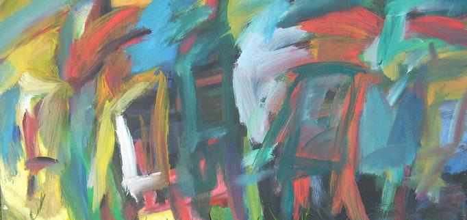Bariolés - 40x80 - 2010