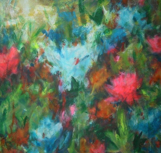 Sauvages fleurs printanières - 100x100 - 2014