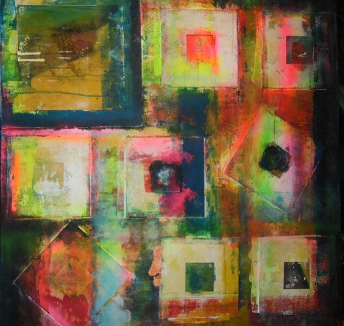 Carrément carrés - 100x100 - 2016