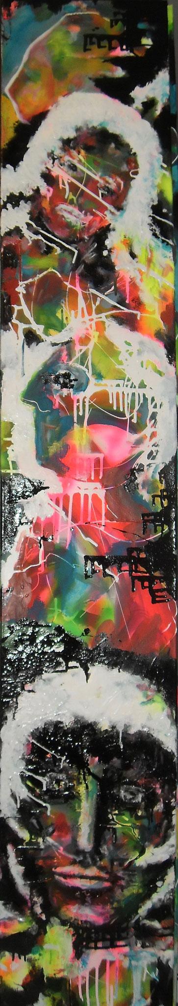 Électrisés - 180x30 - 2016