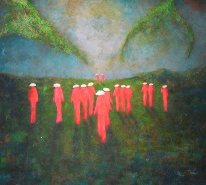 Uniformément roses -160x140 - 2014