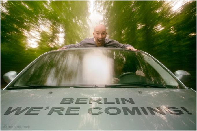 BERLIN, WE'RE COMING! - Im Geschwindigkeitsrausch auf dem Weg zu einem neuen Job in der Hauptstadt