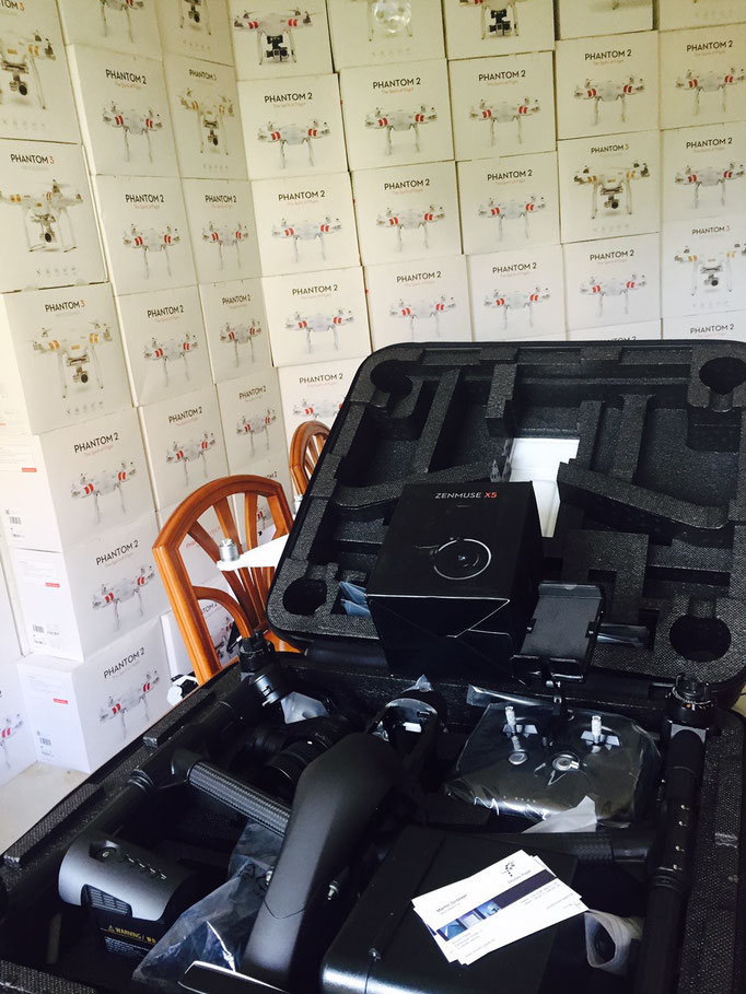 Drohnen Reparaturservice