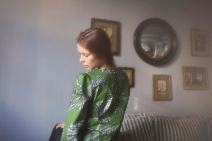 Hermione : blouse, 100% coton - Jeanne Berre