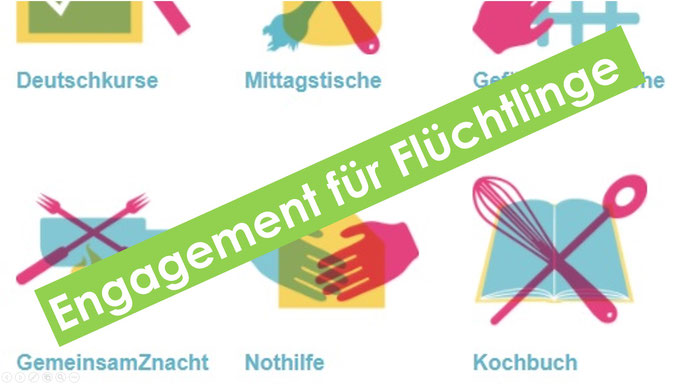 Engagement für Flüchtlinge - Solinetz