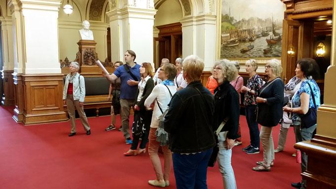 Lobby der Bürgerschaft