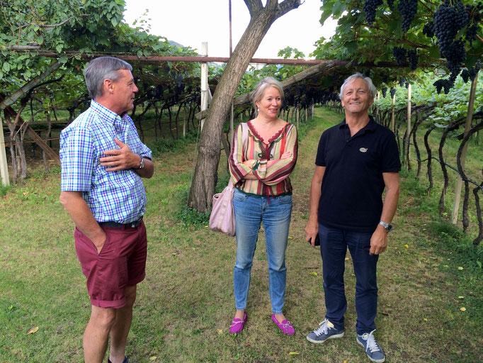 CHRISTINE MAYR, Südtiroler Weinpäpstin und ALBIN THÖNI, Genussbotschafter