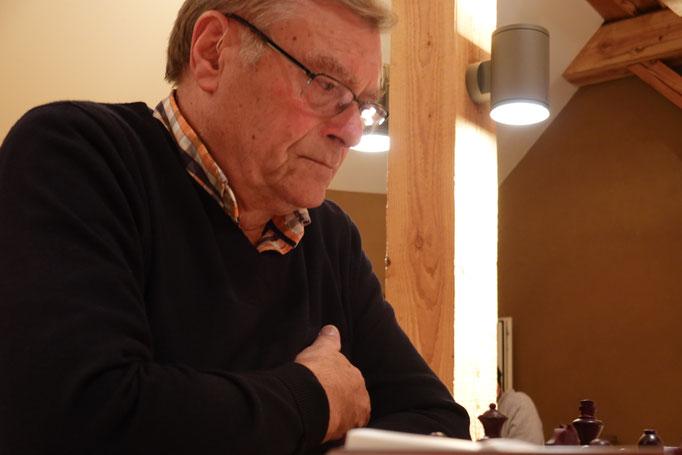 Rudolf Angeli geriet unter eine Bauernwalze
