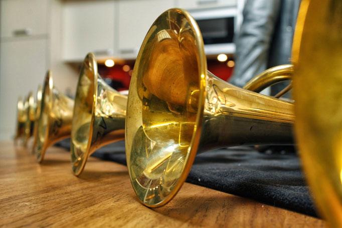 2012 Leerlingen op bezoek bij Van Laar Trumpets