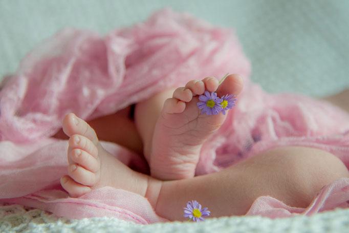 Shooting für Neugeborene und Babys