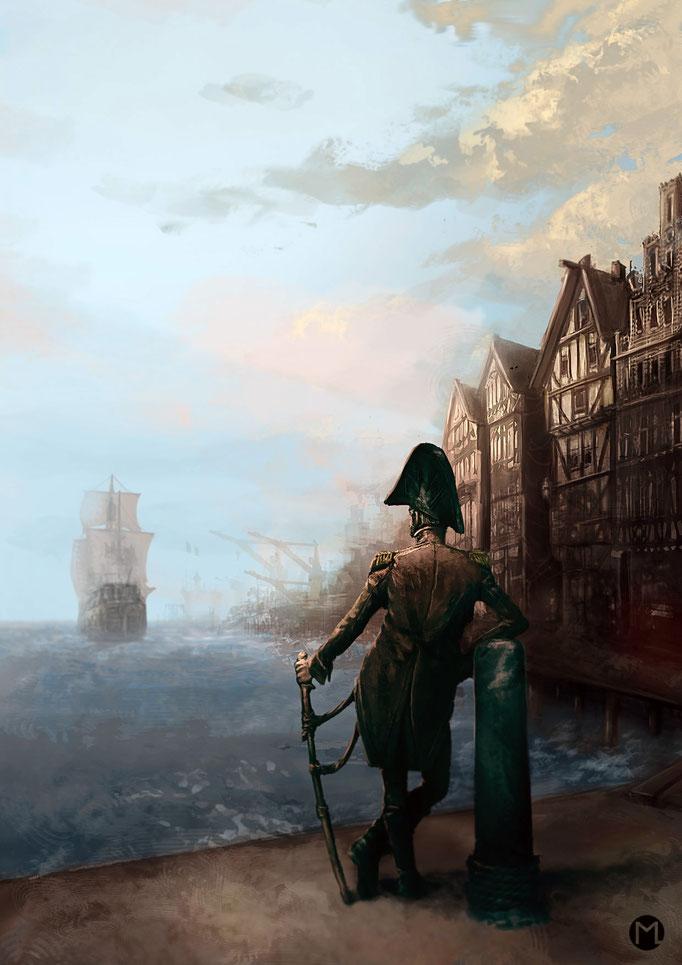 Concept Art - Illustration - Wanderlust