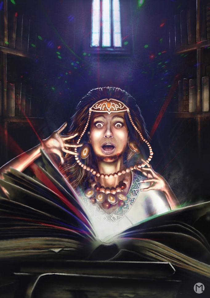 Concept Art - Illustration - Magisches Buch
