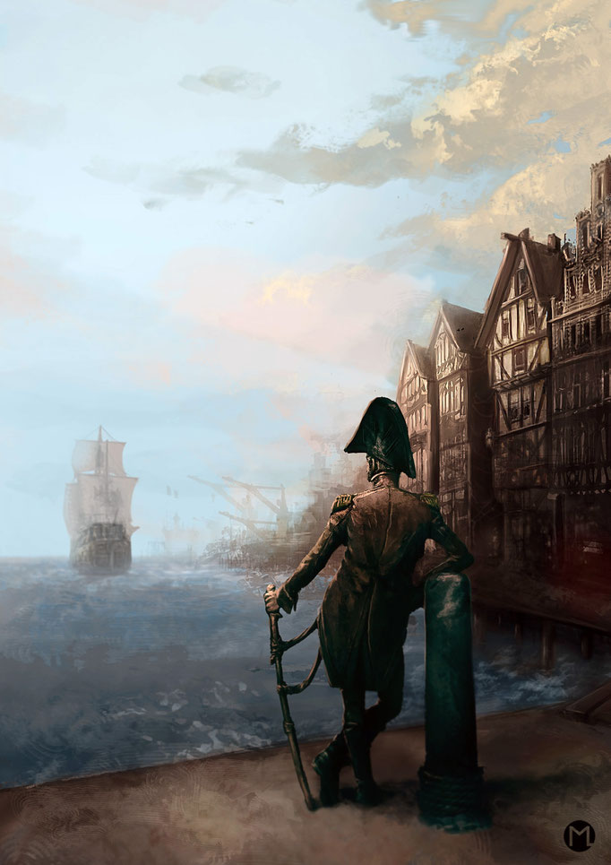 Concept Art - Illustration - Environment - Wanderlust - Fernweh