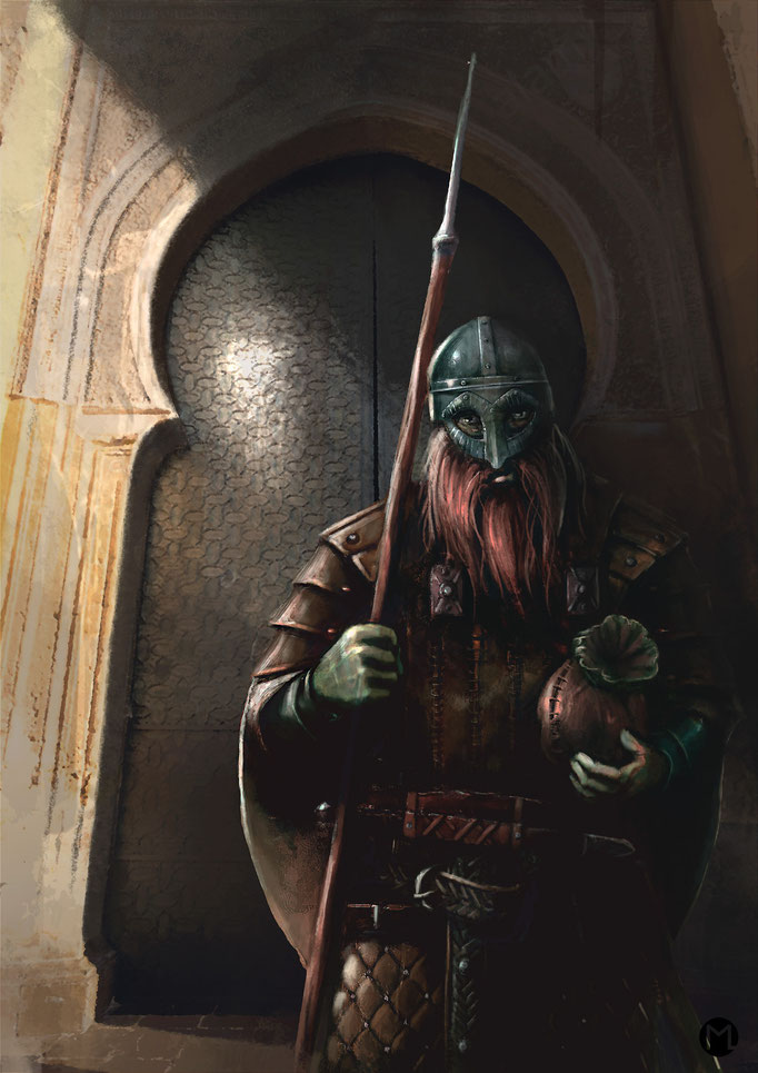 Concept Art - Illustration - Varangian Guard