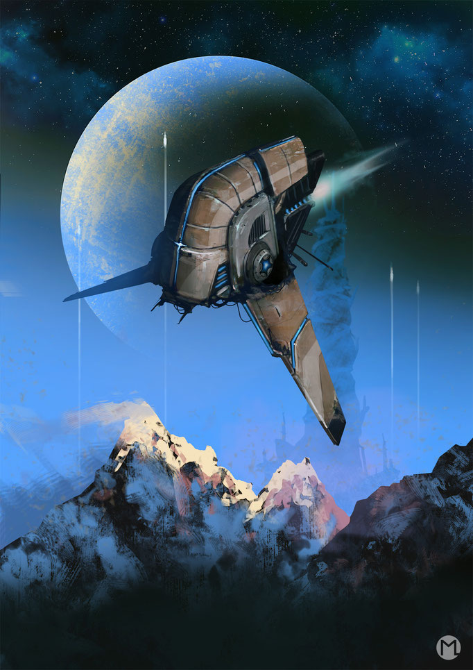 Concept Art - Illustration - Environment - Exodus - Die Flucht