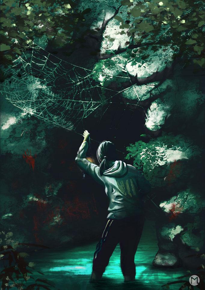 Artwork - Illustration - Exploring