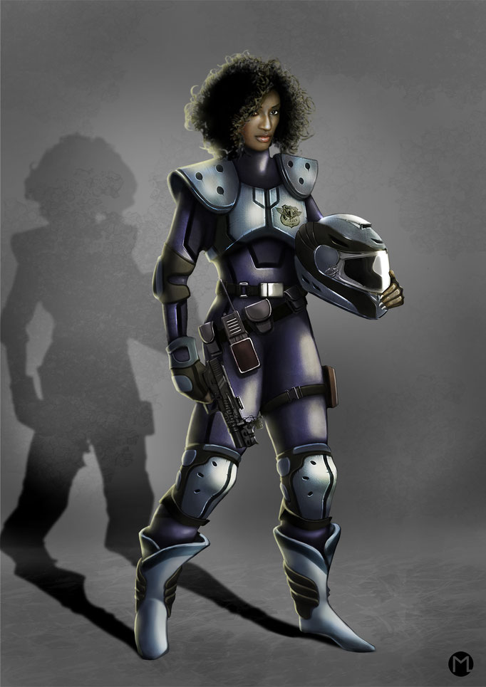 Female Police Officer - Polizistin