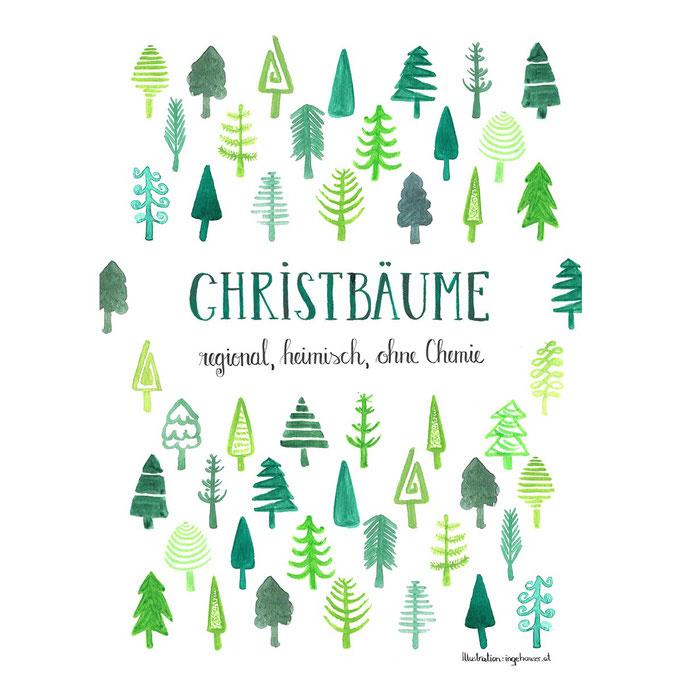 Christbaumkultur Hauser Plakat