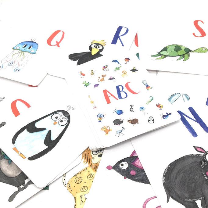 Tier ABC, Kinderzimmer, Kinder, Lernen