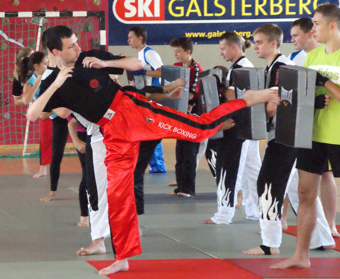 Trainingslager in Niederöblarn Kickboxing 4 L&M Training Spaß Freunde