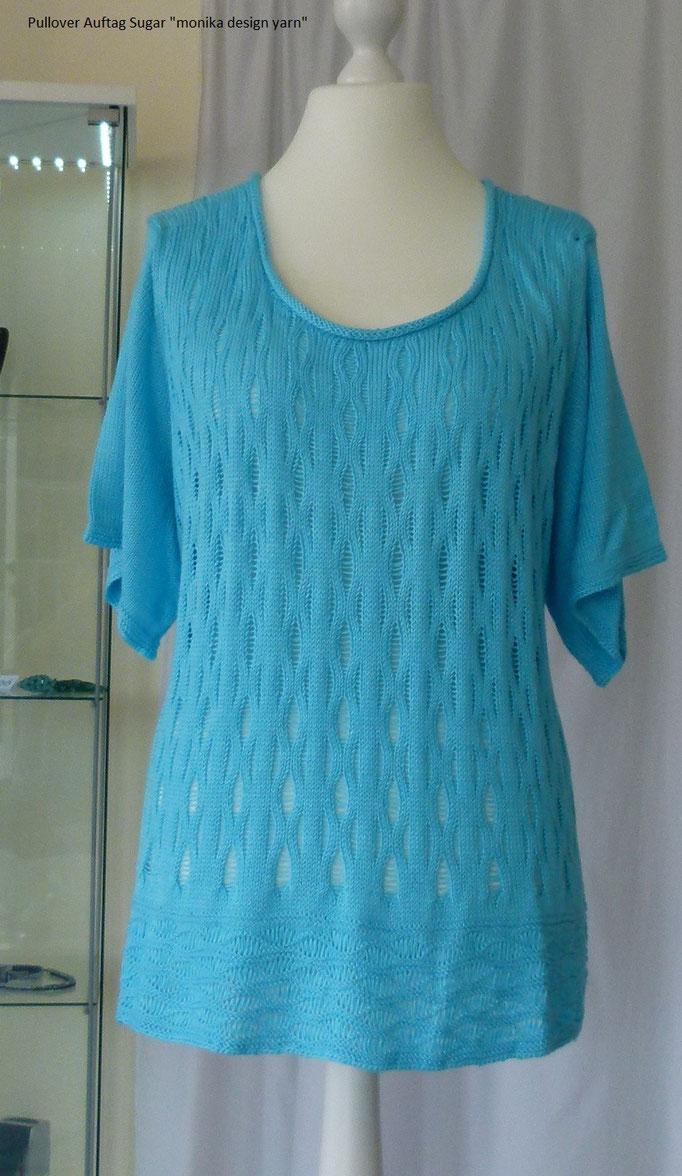 Kurzarm Pullover Modell: SuZi's Wollwerkstatt Material Sugar Lana Gatto