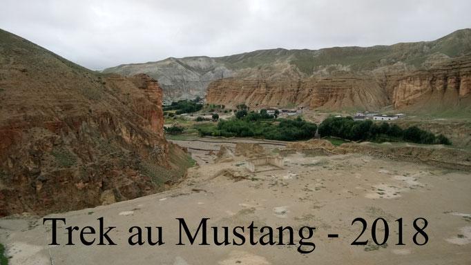 2018 - un trek au Mustang