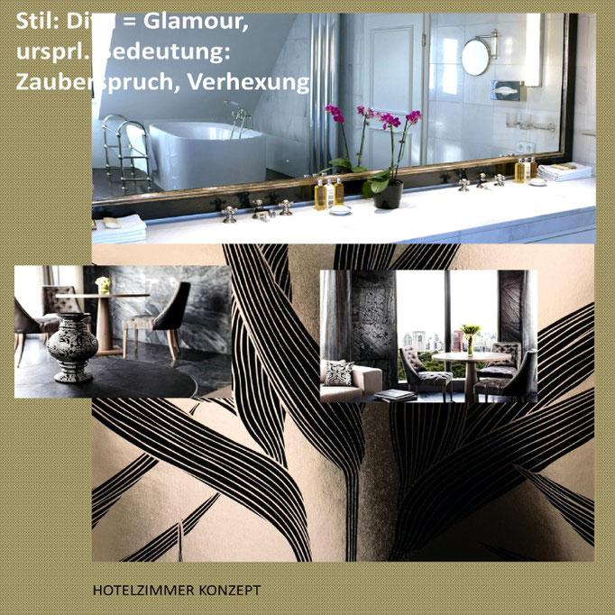 """#Hotelzimmer """"Glamour"""", #Interior Design"""