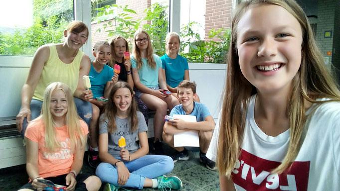 Hohenhameln 2017 mit der 1.Gruppe