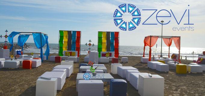 Fiesta tema huichol con Zevi Events