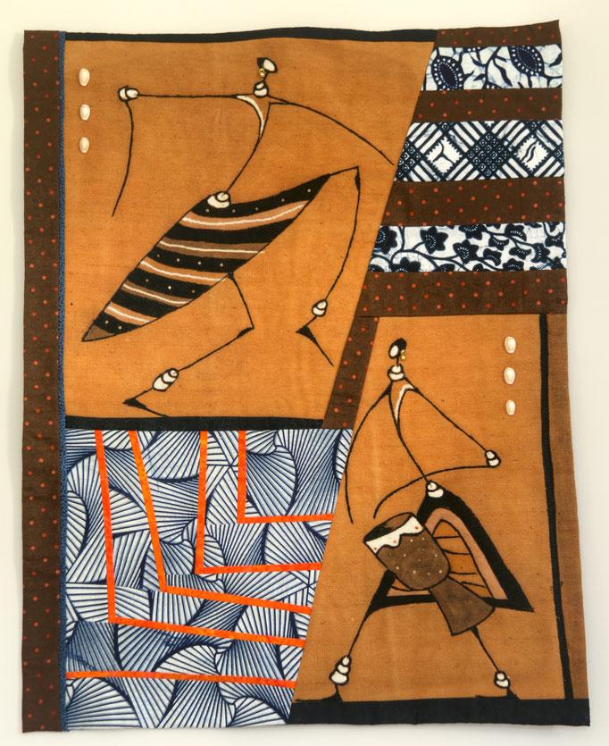Danse africaine - 51 x 66 cm