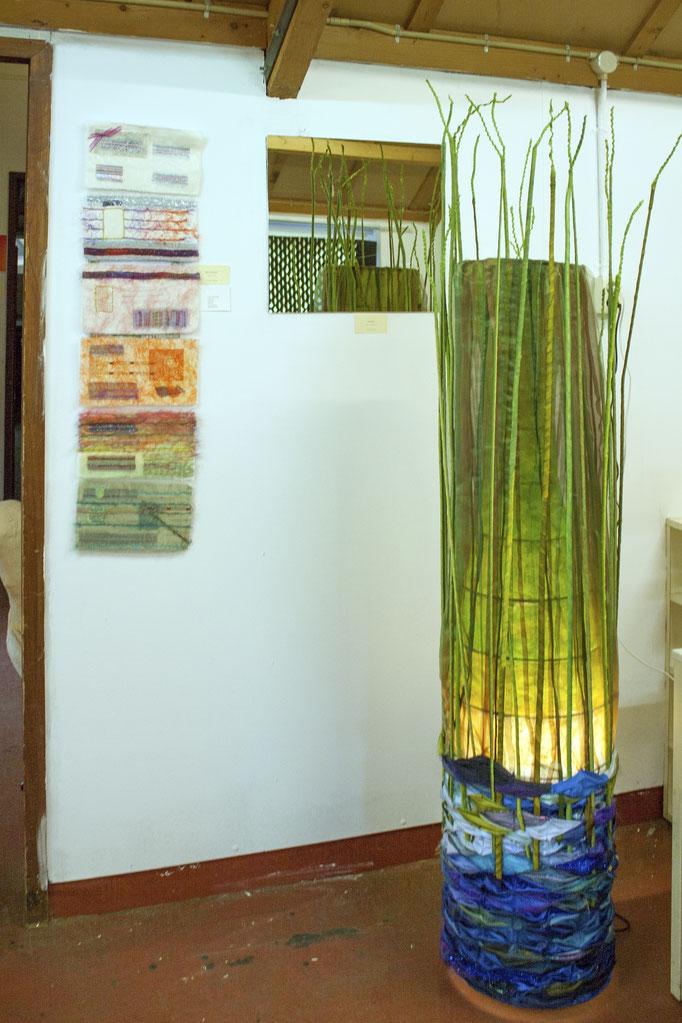 DNA; identiteitsbewijs Bouwke en Water-land: lamp Rietland Carla