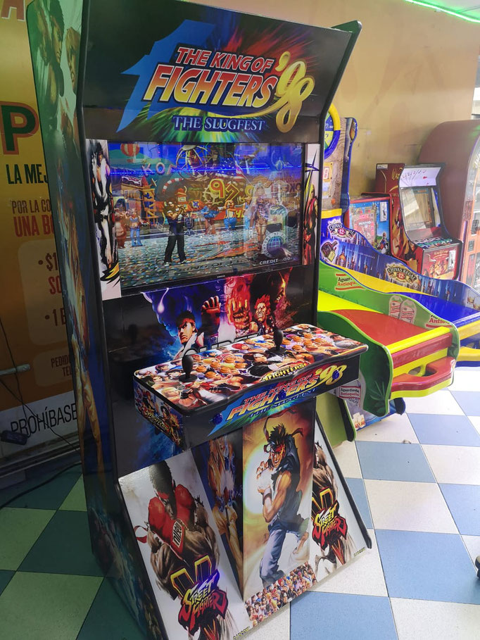 maquinas arcade videojuegos king of fighters, Fabrica de maquinas arcade