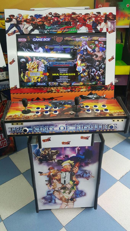 venta de maquinas arcade multijuegos