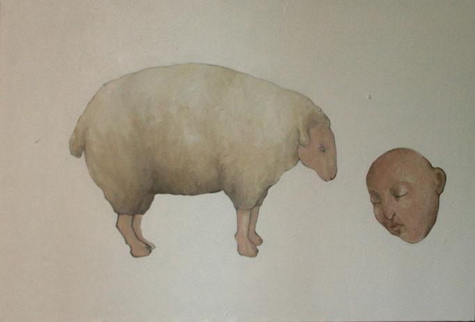 """""""sans titre"""", 130x89, acrylique sur toile ©"""